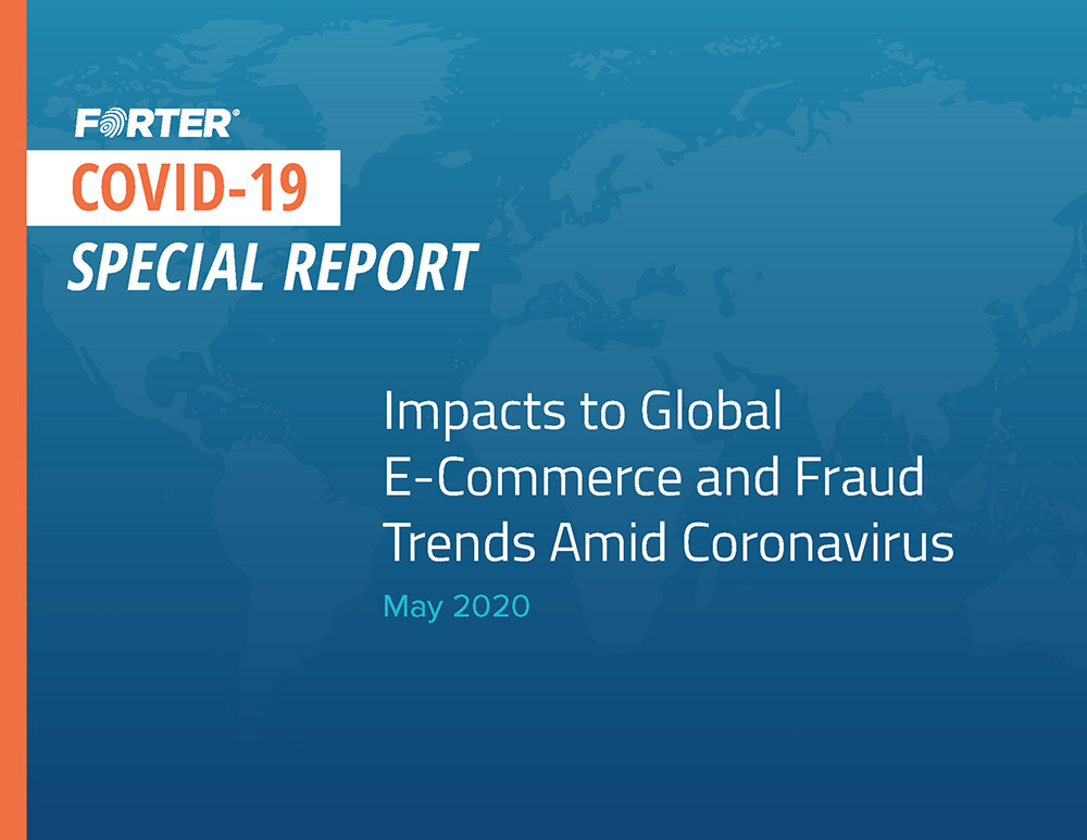 May 2020 Covid-19 Report Forter Cover